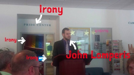 """Irony"" ft. John Lomperis"
